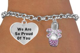 <BR>                                  BALLET SHOES CHARM BRACELET WHOLESALE <bR>                 1586-1270B2 - THE NEW WAY TO EXPRESS LOVE, MOTIVATION,<BR>          POSITIVE, AFFIRMATIVE EXPRESSIONS, THAT WILL GO PERFECTLY<br>        WITH ANOTHER POSITIVE AFFIRMATION CHARM IF YOU WANT  ONE,<BR>   MORE CHOICES LOOK BELOW,  CHARM BRACELET FROM $9.42 TO $12.87<BR>                                    CostumeJewelryWholesale.com �2014