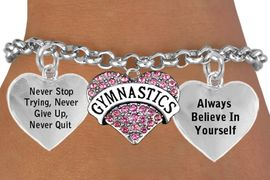 <BR>BEAUTIFUL PINK CRYSTAL GYMNASTICS HEART CHARM BRACELET WHOLESALE <bR>      W21441B - THE NEW WAY TO EXPRESS LOVE, MOTIVATION, INSPIRATION,<BR>          POSITIVE, AFFIRMATIVE EXPRESSIONS, THAT WILL GO PERFECTLY<br>        WITH ANOTHER POSITIVE AFFIRMATION CHARM IF YOU WANT  ONE,<BR>   MORE CHOICES LOOK BELOW,  CHARM BRACELET FROM $9.73 TO $14.58<BR>                                    CostumeJewelryWholesale.com �2014