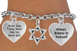 <BR>               BEAUTIFUL STAR OF DAVID CHARM BRACELET WHOLESALE <bR>W21446B - THE NEW WAY TO EXPRESS LOVE, MOTIVATION, INSPIRATION,<BR>          POSITIVE, AFFIRMATIVE EXPRESSIONS, THAT WILL GO PERFECTLY<br>        WITH ANOTHER POSITIVE AFFIRMATION CHARM IF YOU WANT  ONE,<BR>   MORE CHOICES LOOK BELOW,  CHARM BRACELET FROM $9.73 TO $14.58<BR>                                    CostumeJewelryWholesale.com �2014