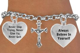 <BR>                            BEAUTIFUL CRUCIFIX CHARM BRACELET WHOLESALE <bR>      W21447B - THE NEW WAY TO EXPRESS LOVE, MOTIVATION, INSPIRATION,<BR>          POSITIVE, AFFIRMATIVE EXPRESSIONS, THAT WILL GO PERFECTLY<br>        WITH ANOTHER POSITIVE AFFIRMATION CHARM IF YOU WANT  ONE,<BR>   MORE CHOICES LOOK BELOW,  CHARM BRACELET FROM $9.73 TO $14.58<BR>                                    CostumeJewelryWholesale.com �2014