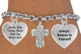 <BR>                    BEAUTIFUL  CRYSTAL CROSS CHARM BRACELET WHOLESALE <bR>      W21448B - THE NEW WAY TO EXPRESS LOVE, MOTIVATION, INSPIRATION,<BR>          POSITIVE, AFFIRMATIVE EXPRESSIONS, THAT WILL GO PERFECTLY<br>        WITH ANOTHER POSITIVE AFFIRMATION CHARM IF YOU WANT  ONE,<BR>   MORE CHOICES LOOK BELOW,  CHARM BRACELET FROM $9.73 TO $14.58<BR>                                    CostumeJewelryWholesale.com �2014