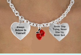 """<BR>               BEAUTIFUL """"BOXING GLOVES"""" CHARM NECKLACE WHOLESALE <bR>                 W21486N - THE NEW WAY TO EXPRESS LOVE, MOTIVATION,<BR>          POSITIVE, AFFIRMATIVE EXPRESSIONS, THAT WILL GO PERFECTLY<br>        WITH ANOTHER POSITIVE AFFIRMATION CHARM IF YOU WANT  ONE,<BR>   MORE CHOICES LOOK BELOW,  CHARM NECKLACE FROM $9.73 TO $14.58<BR>                                    CostumeJewelryWholesale.com �2014"""