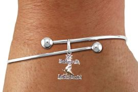 "<BR>"" If I Believe It, I Can Do It! "" ICE SKATING ADJUSTABLE BRACELET<BR>                      AN ORIGINAL ALLAN ROBIN CUSTOM DESIGN<br>                                          WHOLESALE CHARM BRACELET <BR>                                        LEAD, CADMIUM & NICKEL FREE!!  <BR>              W21547B-HIGH POLISHED, BRIGHT ADJUSTABLE SILVER TONE  <BR>                                BRACELET FROM $4.50 TO $8.35 EACH! &#169;2015"