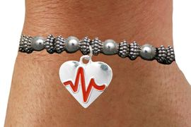 "<BR>                                  NICKEL FREE & ADJUSTABLE BRACELET ! <BR>                                                         ""THE PERFECT GIFT"",<BR>                               ""Your Love Makes My Heart Beat"","" I Love You"", Or<BR>                      In Recognition Of ""Women's Or Children's Heart Disease""<BR>                           "" HEARTBEAT "" ADJUSTABLE STRETCH BRACELET<BR>                                AN ORIGINAL ALLAN ROBIN CUSTOM DESIGN<br>                                             WHOLESALE CHARM BRACELET <BR>                                           LEAD, CADMIUM & NICKEL FREE!!  <BR>                                            W21571B-ADJUSTABLE STRETCH <BR>                             BRACELET FROM $4.90 TO $5.85 EACH! &#169;2015"