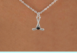 <BR>        NICKEL FREE & ADJUSTABLE NECKLACE !<BR>WHOLESALE HOCKEY SMALL CHAIN NECKLACE <bR>                            EXCLUSIVELY OURS!! <Br>                       AN ALLAN ROBIN DESIGN!! <BR>                 LEAD, NICKEL & CADMIUM FREE!! <BR>              W21588N - SILVER TONE HOCKEY STICKS <BR>            AND PUCK CHARM ADJUSTABLE NECKLACE <BR>                                            $9.38 �2015
