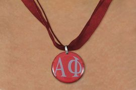 <BR>   NICKEL FREE & ADJUSTABLE NECKLACE !<BR> WHOLESALE FASHION SORORITY JEWELRY <BR>                 EXCLUSIVELY OURS!! <BR>            AN ALLAN ROBIN DESIGN!! <BR>      LEAD, NICKEL & CADMIUM FREE!! <BR>  W21649N - OFFICIAL GREEK SORORITY <BR>     ALPHA PHI COLOR DISK CHARM ON <Br>  MAROON SHEER DUAL CORDED NECKLACE <BR>          FROM $4.16 TO $9.25 �2015