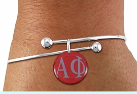 <BR>         NICKEL FREE & ADJUSTABLE BRACELET!<bR>        WHOLESALE FASHION SORORITY JEWELRY   <BR>                        EXCLUSIVELY OURS!!   <BR>                   AN ALLAN ROBIN DESIGN!!   <BR>             LEAD, NICKEL & CADMIUM FREE!!   <BR> W21772SB - OFFICIAL GREEK LETTER SORORITY <BR>   COLORFUL DISK CHARM ON ADJUSTABLE SOLID <Br>   WIRE BRACELET FROM $5.90 TO $9.25 �2015