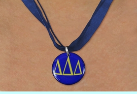 <BR>    CUSTOM FASHION SORORITY JEWELRY <BR>                 EXCLUSIVELY OURS!! <BR>            AN ALLAN ROBIN DESIGN!! <BR>      LEAD, NICKEL & CADMIUM FREE!! <BR>  W21792N - OFFICIAL GREEK SORORITY <BR>  LETTER COLOR DISK CHARM ON CUSTOM <Br>   COLOR SHEER DUAL CORDED NECKLACE <BR>          FROM $4.16 TO $9.25 �2015