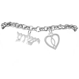 "<BR>"" YESHUA "" (JESUS IN HEBREW) NAMED BY AN <BR>ANGEL OF GOD, WITH A JESUS FISH IN A HEART,<BR> EXCLUSIVELY OURS! AN ALLAN ROBIN DESIGN,<BR>     HYPOALLERGENIC-SAFE NICKEL, LEAD, & <BR>      CADMIUM FREE! ADJUSTABLE BRACELET,<BR>   W21884B2 - FROM $7.90 TO $12.50 �2016"