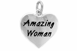 "W265SC - ""AMAZING WOMAN"" HEART ©2009 $5.68 EACH"