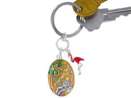 <BR>           W2945KC-NEW! FLORDIA<BR>GIRL KEY CHAIN AS LOW AS $ .89