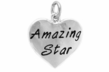 "W297SC - ""AMAZING STAR"" HEART   © 2009   $5.08 Each"