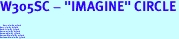 """W305SC - """"IMAGINE"""" CIRCLE<BR> <FONT size=""""2"""">Buy 1-2 for $4.05 Each<br>Buy 3-5 for $3.65 Each<br>Buy 6-11 for $3.55 Each<br>Buy 12-23 for $3.45 Each<br>Buy 24-49 for $3.35 Each<br>Buy 50 or More for $3.25 Each<br>Buy 100 or More for $2.35 Each</font>"""