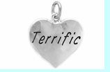 """W307SC - """"TERRIFIC"""" HEART <BR> <FONT size=""""2"""">Buy 1-2 for $4.05 Each<br>Buy 3-5 for $3.65 Each<br>Buy 6-11 for $3.55 Each<br>Buy 12-23 for $3.45 Each<br>Buy 24-49 for $3.35 Each<br>Buy 50 or More for $3.25 Each<br>Buy 100 or More for $2.35 Each</font>"""