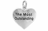 "W309SC - ""THE MOST OUTSTANDING"" HEART  � 2009  $5.68 Each"