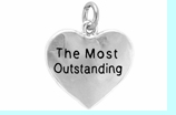 """W309SC - """"THE MOST OUTSTANDING"""" HEART  � 2009  $2.88 Each"""
