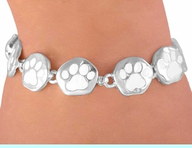 <br>     W3112B - PURE WHITE<BR>MAGNETIC  PAW BRACELET<BR>     FROM $4.95 TO $12.50