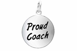 "W314SC - ""PROUD COACH"" CIRCLE  ©2011  $5.08 Each"