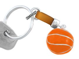 W5024KC - LARGE BASKETBALL<Br>    KEY CHAIN AS LOW AS $1.99