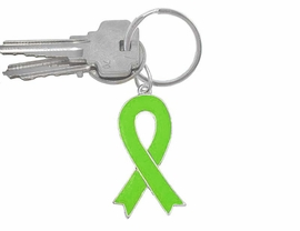 "<br> W5180KC - LIME GREEN AWARENESS<Br> RIBBON KEY CHAIN AS LOW AS $1.99<BR>                    ""EXCLUSIVELY OURS""<BR>WE ARE THE ONLY MANUFACTURER OF<BR>                 THIS KEY CHAIN! &#169;2005"