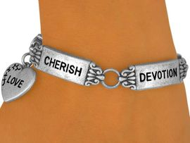 <Br>     W9131B - ANTIQUE SILVER TONE<Br>INSPIRATIONAL WORD TILE BRACELET<br>                 FROM $5.06 TO $11.25