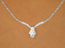 <br>   W9686NE - GLITTERING SILVER TONE<br>TWISTED CHAIN & AUSTRIAN CRYSTAL<br>             NECKLACE & EARRING SET<Br>      YOUR LOW PRICE IS ONLY $8.94