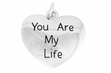 "W981SC - ""YOU ARE MY LIFE"" HEART  �09 $7.68 Each"