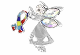 <br>            WHOLESALE AUTISM PIN<Br>            LEAD & NICKEL FREE!!<Br>  W16250P - AURORA BOREALIS<Br>     AUSTRIAN CRYSTAL AUTISM<BR>  AWARENESS GUARDIAN ANGEL<Br>        PIN FROM $2.81 TO $6.25<BR>                              &#169;2006