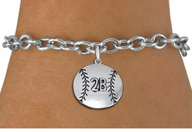 <br>   WHOLESALE BASEBALL FASHION BRACELET <bR>                     EXCLUSIVELY OURS!!<BR>                AN ALLAN ROBIN DESIGN!!<BR>       CLICK HERE TO SEE 1000+ EXCITING<BR>             CHANGES THAT YOU CAN MAKE!<BR>      CUSTOMIZED WITH PLAYERS POSITION <BR>          CADMIUM, LEAD & NICKEL FREE!!<BR>      W1502SB - BEAUTIFUL SILVER TONE <Br>    CUSTOM BASEBALL CHARM & BRACELET <BR>              FROM $4.50 TO $8.35 �2013