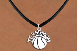 "<br>          WHOLESALE BASKETBALL JEWELRY <bR>                    EXCLUSIVELY OURS!! <BR>               AN ALLAN ROBIN DESIGN!! <BR>      CLICK HERE TO SEE 1000+ EXCITING <BR>            CHANGES THAT YOU CAN MAKE! <BR>         CADMIUM, LEAD & NICKEL FREE!! <BR>        W1487SN - DETAILED SILVER TONE <BR> ""TEAM MOM"" BASKETBALL CHARM & NECKLACE <BR>              FROM $4.50 TO $8.35 �2013"