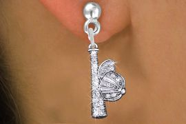 <BR>  WHOLESALE BAT & CAP CRYSTAL EARRINGS! <bR>                   EXCLUSIVELY OURS!! <Br>               AN ALLAN ROBIN DESIGN!! <BR>   LEAD, NICKEL & CADMIUM FREE!! <BR> W1470SE - SILVER TONE AND CLEAR <BR> CRYSTAL BAT AND CAP CHARM EARRINGS <BR>      FROM $5.40 TO $10.45 �2013