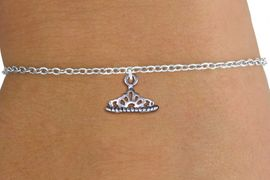 <br>  WHOLESALE CHILDRENS CHARM BRACELET <bR>                   EXCLUSIVELY OURS!!<BR>              AN ALLAN ROBIN DESIGN!!<BR>     CLICK HERE TO SEE 1000+ EXCITING<BR>           CHANGES THAT YOU CAN MAKE!<BR>        CADMIUM, LEAD & NICKEL FREE!!<BR>      W1434SB - SILVER TONE PRINCESS <Br>       TIARA CHARM & CHILDS BRACELET <BR>            FROM $4.15 TO $8.00 �2013