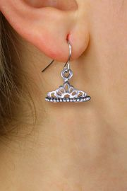 <br>      WHOLESALE CHILDRENS EARRINGS <bR>                EXCLUSIVELY OURS!! <BR>           AN ALLAN ROBIN DESIGN!! <BR>     CADMIUM, LEAD & NICKEL FREE!! <BR>    W1434SE - DETAILED SILVER TONE <Br>     PRINCESS TIARA CHARM EARRINGS <BR>         FROM $4.50 TO $8.35 �2013