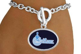 """<BR>WHOLESALE CITADEL MILITARY BRACELET<Br>           LEAD & NICKEL FREE!! <Br>          OFFICIALLY LICENSED!! <bR> W20235B - THE CITADEL MILITARY <Br> COLLEGE """"BULLDOGS"""" LOGO BRACELET <BR>            FROM $3.35 TO $7.50"""