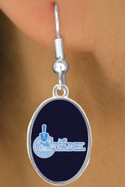 """<BR>WHOLESALE CITADEL MILITARY JEWELRY<Br>            LEAD & NICKEL FREE!! <Br>          OFFICIALLY LICENSED!!! <bR>  W20233E - THE CITADEL MILITARY <Br> COLLEGE """"BULLDOG"""" LOGO EARRINGS <BR>             FROM $3.94 TO $8.75"""