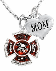 "<Br> WHOLESALE EMT ON A MALTESE CROSS JEWELRY  <BR>                         AN ALLAN ROBIN DESIGN!! <Br>                   CADMIUM, LEAD & NICKEL FREE!!  <Br>                W1720-1837N1  ""EMT  MOM"" HEART  <BR>  CHARMS ON HEART LOBSTER CLASP BRACELET <BR>                      FROM $7.50 TO $9.50 �2016"