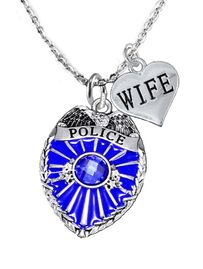 """<Br>                         WHOLESALE POLICE JEWELRY  <BR>                             AN ALLAN ROBIN DESIGN!! <Br>                    CADMIUM, LEAD & NICKEL FREE!!  <Br>           W1329-1876N1 I LOVE YOU """" WIFE"""" HEART  <BR>          CHARMS ON ADJUSTABLE CHAIN NECKLACE<BR>                      FROM $7.50 TO $9.50 �2016"""