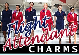 <BR> WHOLESALE FLIGHT ATTENDANT CHARMS <BR> CADMIUM, LEAD AND NICKEL FREE <BR>             SOLD INDIVIDUALLY