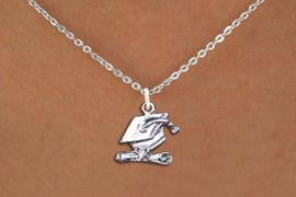 <br>      WHOLESALE GRADUATION JEWELRY<bR>                  EXCLUSIVELY OURS!! <BR>             AN ALLAN ROBIN DESIGN!! <BR>    CLICK HERE TO SEE 1000+ EXCITING <BR>          CHANGES THAT YOU CAN MAKE! <BR>       CADMIUM, LEAD & NICKEL FREE!! <BR> W1431SN - SILVER TONE GRADUATION CAP <BR>          AND DIPLOMA CHARM NECKLACE <BR>            FROM $4.50 TO $8.35 �2013