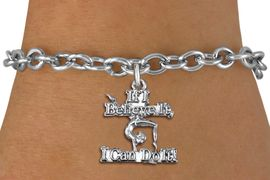 "<br> WHOLESALE GYMNASTIC BRACELET<bR>                  EXCLUSIVELY OURS!!<BR>             AN ALLAN ROBIN DESIGN!!<BR>    CLICK HERE TO SEE 1000+ EXCITING<BR>          CHANGES THAT YOU CAN MAKE!<BR>       CADMIUM, LEAD & NICKEL FREE!!<BR>  W1407SB - ""IF I BELIEVE IT, I CAN <Br> DO IT"" GYMNASTICS CHARM & BRACELET <BR>           FROM $4.15 TO $8.00 �2013"