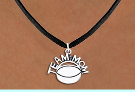 """<br>          WHOLESALE HOCKEY NECKLACES!! <bR>                    EXCLUSIVELY OURS!! <BR>               AN ALLAN ROBIN DESIGN!! <BR>      CLICK HERE TO SEE 1000+ EXCITING <BR>            CHANGES THAT YOU CAN MAKE! <BR>         CADMIUM, LEAD & NICKEL FREE!! <BR>        W1489SN - DETAILED SILVER TONE <BR>   """"TEAM MOM"""" HOCKEY CHARM & NECKLACE <BR>              FROM $4.50 TO $8.35 �2013"""