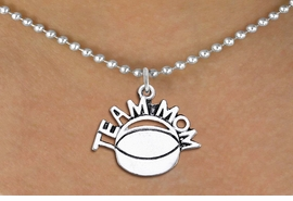 "<br>          WHOLESALE HOCKEY NECKLACES!! <bR>                    EXCLUSIVELY OURS!! <BR>               AN ALLAN ROBIN DESIGN!! <BR>      CLICK HERE TO SEE 1000+ EXCITING <BR>            CHANGES THAT YOU CAN MAKE! <BR>         CADMIUM, LEAD & NICKEL FREE!! <BR>        W1489SN - DETAILED SILVER TONE <BR>   ""TEAM MOM"" HOCKEY CHARM & NECKLACE <BR>              FROM $4.85 TO $8.30 �2013"