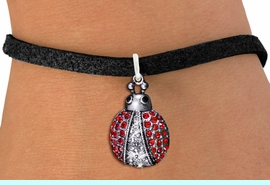 <BR>           WHOLESALE INSECT JEWELRY <bR>                   EXCLUSIVELY OURS!! <Br>              AN ALLAN ROBIN DESIGN!! <BR>     CLICK HERE TO SEE 1000+ EXCITING <BR>           CHANGES THAT YOU CAN MAKE! <BR>        LEAD, NICKEL & CADMIUM FREE!! <BR> W1441SN - SILVER TONE WITH RED AND JET<BR> CRYSTAL LADYBUG CHARM AND NECKLACE <BR>            FROM $5.40 TO $9.85 �2013