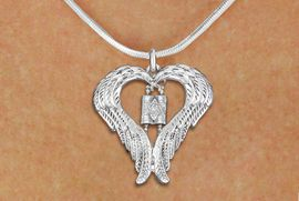 <BR>WHOLESALE JEWISH JEWELRY<bR>               EXCLUSIVELY OURS!! <BR>             LEAD & NICKEL FREE!! <BR>   JEWISH THEMED CHARM NECKLACE!! <BR>   W20258N - GUARDIAN ANGEL WINGS <Br>   WITH SILVER TONE TORAH SCROLLS <BR>   CHARM ON SNAKE CHAIN NECKLACE <BR>      FROM $5.63 TO $12.50 �2013