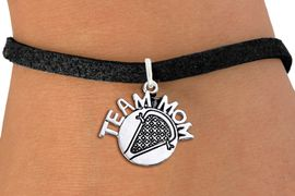"<br>        WHOLESALE LACROSSE JEWELRY<bR>                    EXCLUSIVELY OURS!!<BR>               AN ALLAN ROBIN DESIGN!!<BR>      CLICK HERE TO SEE 1000+ EXCITING<BR>            CHANGES THAT YOU CAN MAKE!<BR>         CADMIUM, LEAD & NICKEL FREE!!<BR>       W1483SB - DETAILED SILVER TONE <Br> ""TEAM MOM"" LACROSSE CHARM & BRACELET <BR>             FROM $4.15 TO $8.00 �2013"