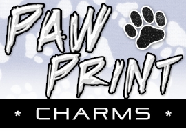 <BR> WHOLESALE PAW & PAW PRINT CHARMS <BR> CADMIUM, LEAD AND NICKEL FREE <BR>             SOLD INDIVIDUALLY