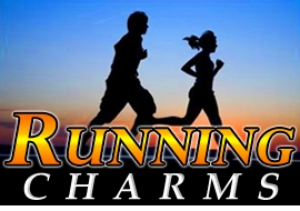 <BR>   WHOLESALE RUNNING CHARMS <BR> CADMIUM, LEAD AND NICKEL FREE <BR>             SOLD INDIVIDUALLY