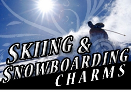 <BR>      WHOLESALE SKIING AND <BR>     SNOWBOARDING CHARMS <BR> CADMIUM, LEAD AND NICKEL FREE <BR>             SOLD INDIVIDUALLY