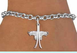 <BR>   WHOLESALE SKIING CHARM JEWELRY <bR>                EXCLUSIVELY OURS!! <Br>           AN ALLAN ROBIN DESIGN!! <BR>  CLICK HERE TO SEE 1000+ EXCITING <BR>        CHANGES THAT YOU CAN MAKE! <BR>     LEAD, NICKEL & CADMIUM FREE!! <BR> W1495SB - SILVER TONE BOOTS WITH SKIS <BR>    CLEAR CRYSTAL CHARM & BRACELET <BR>         FROM $5.40 TO $9.85 �2013