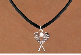 <BR>                            WHOLESALE SPORTS JEWELRY <bR>                                     EXCLUSIVELY OURS!! <Br>                                AN ALLAN ROBIN DESIGN!! <BR>                       CLICK HERE TO SEE 125+ EXCITING <BR>                          CHANGES THAT YOU CAN MAKE! <BR>                         LEAD, NICKEL & CADMIUM FREE!! <BR>                      W1584N3 - BLACK SUEDE NECKLACE <BR>LACROSSE WITH RUBBER BALL FROM $5.90 TO $9.35 �2014